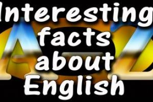 Zanimljivosti o engleskom jeziku: