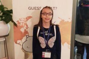 Naša učenica Teodora Zejak osvojila 8. mesto na međunarodnom Hippo takmičenju iz engleskog jezika!