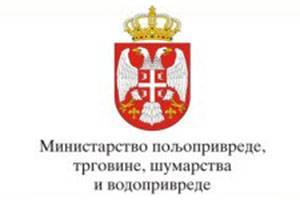 MINISTARSTVO POLJOPRIVREDE, TRGOVINE, ŠUMARSTVA I VODOPRIVREDE
